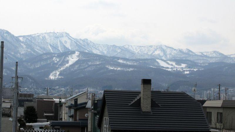 手稲山雪渓